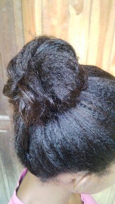 Lets Grow Our Hair!: Messy Bun