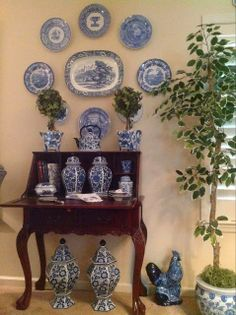 The Enchanted Home: The Blue and White Love contest is on!