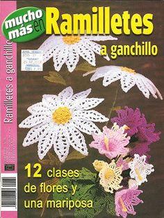 crochet flower pattern book