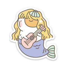 Vinyl Stickers – Noristudio Homemade Stickers, Diy Stickers, Printable Stickers, Laptop Stickers, Sticker Ideas, Images Kawaii, Little Doodles, Tumblr Stickers, Canvas Designs