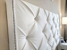 DIY Tufted Headboard – Senseful Style