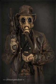 I Hand-Craft Steampunk Costumes From Old Parts For Movies | Bored Panda