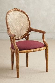 Anthropologie Cane Back Dining Chair #anthrofave