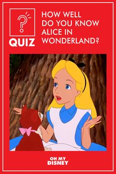 This quiz is curiouser and curiouser. Think you're a Disney trivia expert? Try your hand at this Alice in Wonderland trivia.