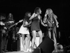 Janis Joplin and Tina Turner perform at Madison Square Garden in New York on November 27th, 1969