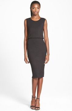 Free shipping and returns on Leith Sleeveless Midi Dress at Nordstrom.com. Sporty and feminine in equal measure, this double-layer midi dress features a scoop neckline and a nipped-in waist for a flattering, figure-defining silhouette.