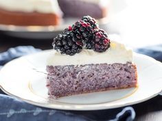 Blackberry Cake With Cream Cheese Frosting Recipe