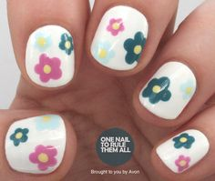 One Nail To Rule Them All: Spring Florals