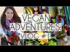 Vegan Adventures: Vlog #1 | Raw in College - YouTube