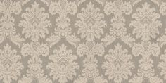 Messina Damask Silver (261004) - Arthouse Wallpapers - A bold Italian vinyl, decorative damask design. Shown here in metallic silver with light cream detailing. Other colourways are available. Please request a sample for true colour match.