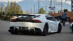 Lamborghini Huracan With Affari Base Package By DMC