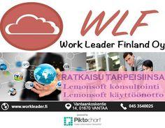 IDEASTA TOTEUTUKSEKSI……. Asiakkaanamme sinun ei halutessasi tarvitse välitää toteutusteknologioista, sillä me valitsemme ne puolestasi ja huolehdimme siitä, että valinta on mahdollisimman pitkäikäinen ja tätä kautta myös kustannustehokas. Work Leader Finland OY tarjota Merkittävä ohjelmistokehityksen palvelu kehittämiseen. Lisätietoja tutustumalla verkkosivuilla www.workleader.fi