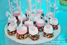 Marshmallow Cake Pop Dessert at Royal Palace Banquet Hall Glendale CA 818.502.3333