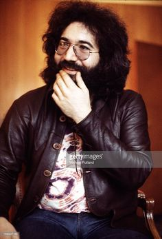 Singer, guitarist and songwriter Jerry Garcia (1942 - 1995) of American rock group the Grateful Dead, London, 1972.