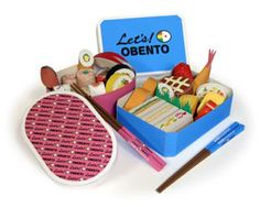 Free dowloadable bento box paper craft.