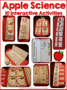 Are you gearing up for apple science?  We began our apple learning this week, but will do the bulk of our investigations next week.  We are LOVING our math journals, so I decided to take that same interactive fun and apply it to our science too! I gathered apples a plenty and pulled out my …