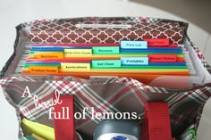 A bowl full of lemons.: How I organize with totes!