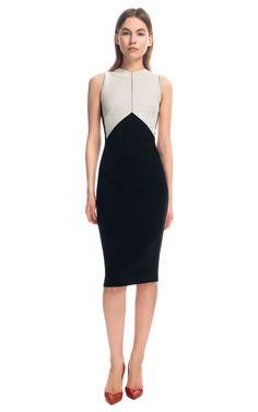 Narciso Rodriguez Crepe Sable Dress