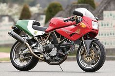Virgin Ducati 900 SuperSport
