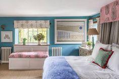 Octavia Dickinson | House & Garden Dream Bedroom, Kids Bedroom, Master Bedroom, Bedroom Decor, Interior Design Inspiration, Home Interior Design, Interior And Exterior, Spare Room, Bedroom Styles