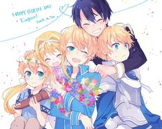 Happy birthday Eugeo❤ (10/04) Source: @co2_0301 on Twitter