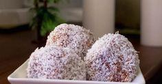 Velmi snadné banánovo-kokosové kuličky bez přidaného cukru