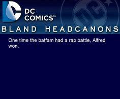 Bland DC Headcanons