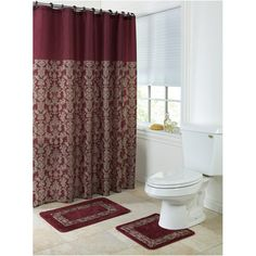 Mainstay Birds Bathroom Accessories Shower Curtain Set At Walmart This Is What Emily Picked