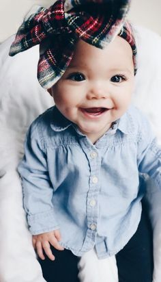 baby outfits The accessory of choice for baby girls will always be giant bows. cute outfits for baby girls So Cute Baby, Baby Love, Cute Kids, Cute Babies, Baby Baby, Kids Diy, Bows For Babies, Cute Baby Stuff, Pretty Baby Girl Names