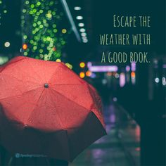 Do you like to escape the wet weather with a good book as well? It's pouring outside and I don't mind spending the night in with a good romance! Paranormal Romance Books, Romance Authors, Book Memes, Book Quotes, New Books, Good Books, Romance And Love, Student Reading, Reading Quotes