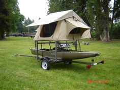 kayak trailer with tent - Google Search