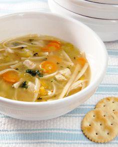 Vegan Vegetarian Chicken Noodle Soup