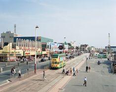 Simon Roberts, 'We English Blackpool Promenade, Lancashire,' The Photographers' Gallery British Beaches, British Seaside, Seaside Beach, Seaside Resort, Seaside Towns, Beach Photography, Street Photography, Photography Tips, Blackpool Promenade