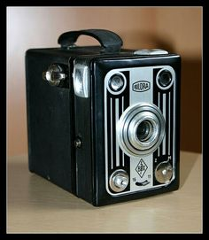 Meine Bilora Box 6a Blitzbox - BJ 1948-1951 - Rollfilm - Boxkamera - Toycam - Analog Photography