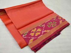 Uppada Ikkath pure silk Sarees with blouse...Available now at Maneeti...Whatsapp 9539820656