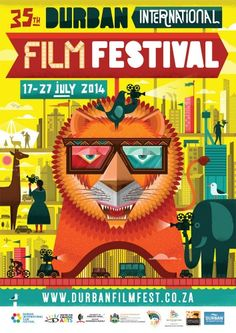 Wesley van Eeden - Graphic designer Durban Film Festival poster 2014 South Africa