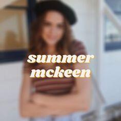 Summer Mckeen, Cover