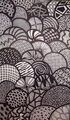 Bubbles - Artful Doodles by LMA