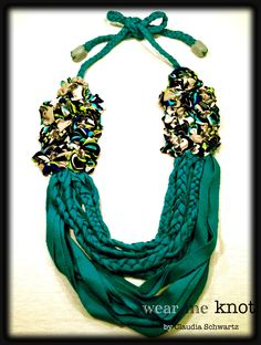Jersey Necklace by Wear Me Knot