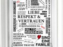 Kunstdruck A4 Familie Manifest