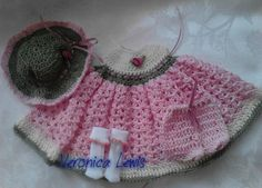 Make doll clothing to sell using this free crochet pattern for 8 inch OOAK dolls. I used Lorna Miller Sands (LMS) Lil Bittie doll for my model. Made from crochet thread.