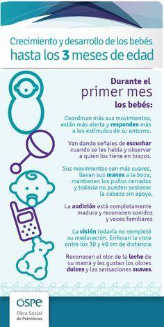 Desarrollo de los bebés hasta los 3 meses - Conoce 49 Ejercicios de Estimulación Temprana visitando este enlace > http://tugimnasiacerebral.com/para-bebes/49-ejercicios-de-estimulacion-temprana-para-ninos-bebes Te ayudamos con el desarrollo de tu bebé #bebes #estimulacion #temprana