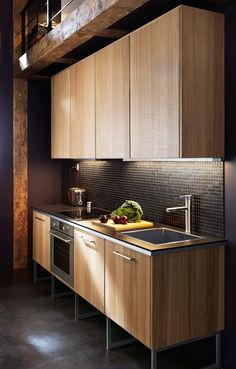 There are such producers that create fantastic furniture that can be used in almost any interior, for example, IKEA. What I love about IKEA is that it's Ikea Metod Kitchen, Wooden Kitchen Cabinets, Kitchen Cabinet Design, Kitchen Furniture, Kitchen Interior, New Kitchen, Kitchen Decor, Kitchen Ideas, Furniture Stores