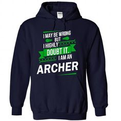 Cool and Awesome Its a ARCHER Thing Strong name 2015 Shirt Hoodie