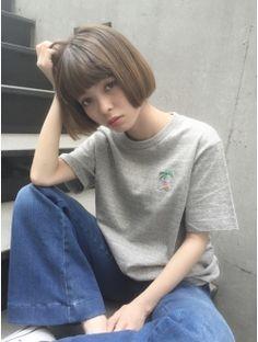 コクーン(Cocoon) 切りっぱなしマチルダボブ 園田雄史