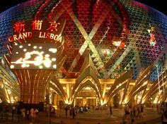 Macau Nightlife at the Grand Lisboa