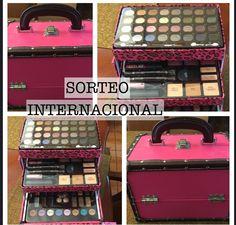 SORTEO INTERNACIONAL  UNA CAJA DE MAQUILLAJE !! - YouTube