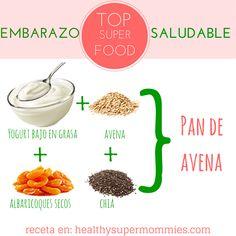 Cómo incluir super food durante tu embarazo saludable  #comesano #embarazosaludable #top10superfood