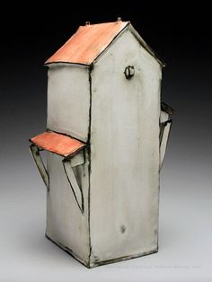 Mary Fischer Tall House at MudFire Gallery