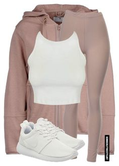 """Untitled #2389"" by whokd ❤ liked on Polyvore featuring adidas, NIKE, women's clothing, women's fashion, women, female, woman, misses and juniors"